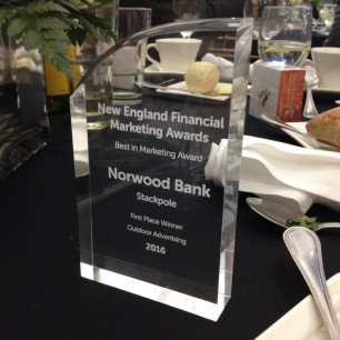 Norwood Bank NEFMA Award