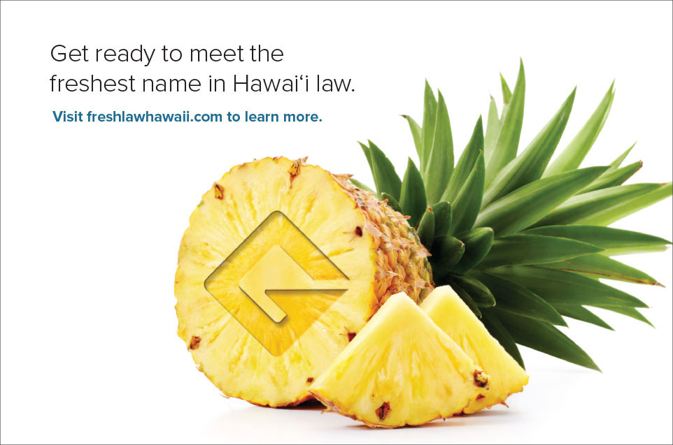 Stackpole Freshest Name in Hawaii