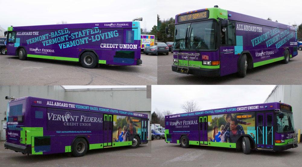 Vermont Federal Bus Wraps